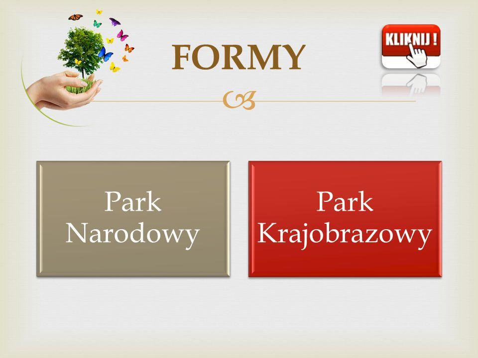Park Narodowy Park Krajobrazowy FORMY