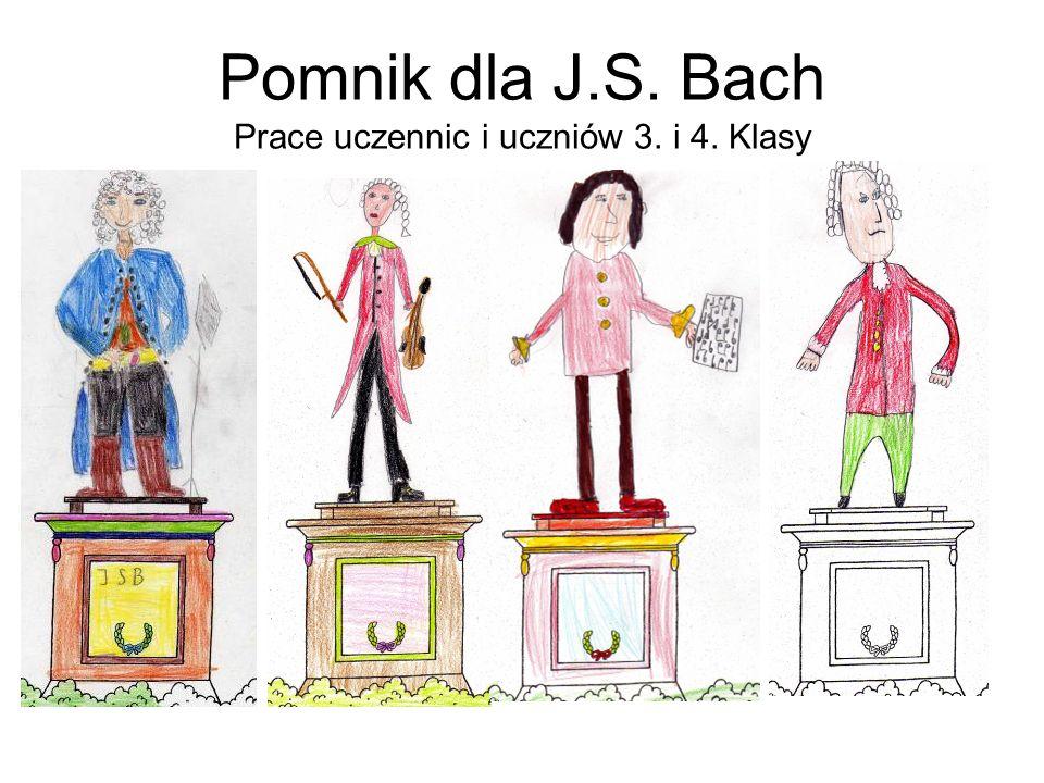 Johann Sebastian Bach urodzony: 1685 w Eisenach (Thüringen) zmarł: 1750 w Leipzig (Sachsen) Zawód:Organista, Kompozytor i kierownik chóru.