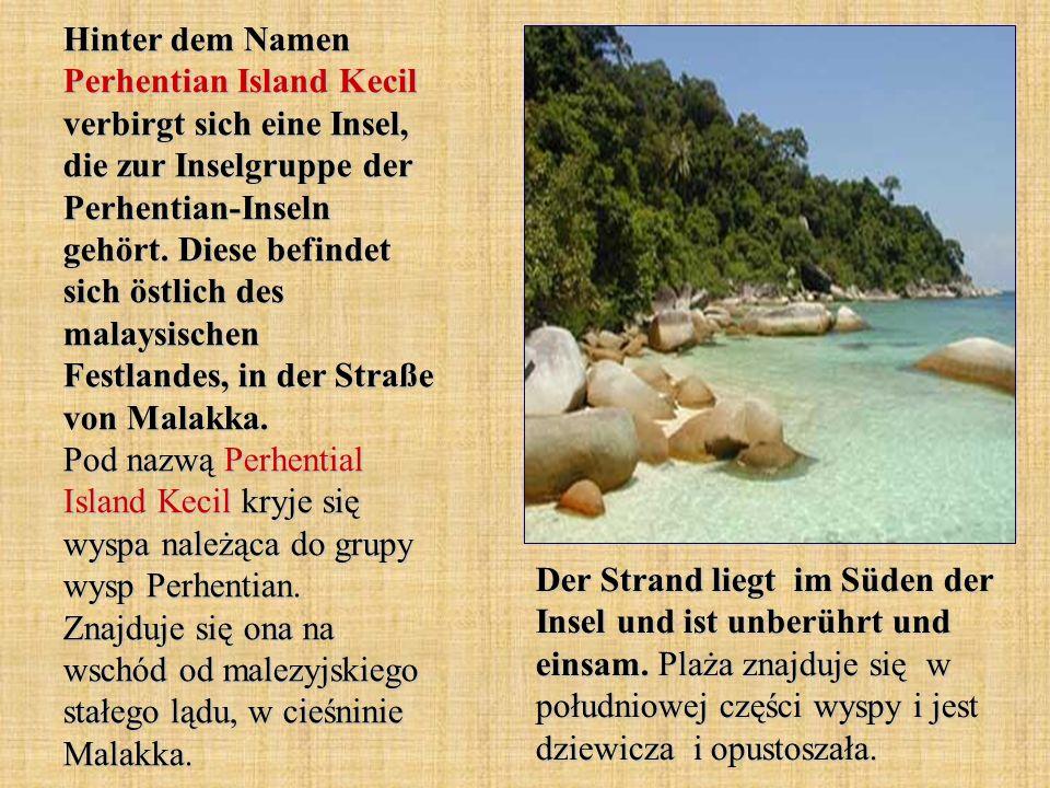 Hinter dem Namen Perhentian Island Kecil verbirgt sich eine Insel, die zur Inselgruppe der Perhentian-Inseln gehört. Diese befindet sich östlich des m
