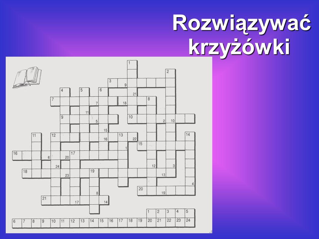 Kreuzworträtsel lösen lösen.