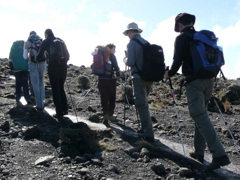Der Kilimandjaro am Morgen Kilimandżaro rankiem