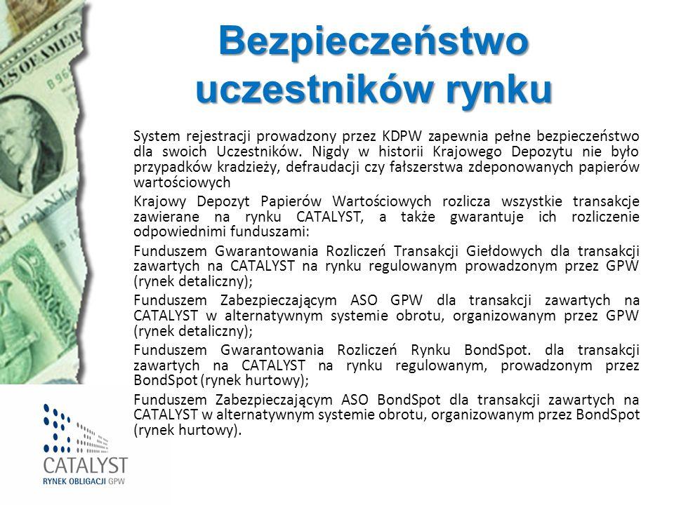 Bezpieczeństwo uczestników rynku System rejestracji prowadzony przez KDPW zapewnia pełne bezpieczeństwo dla swoich Uczestników. Nigdy w historii Krajo