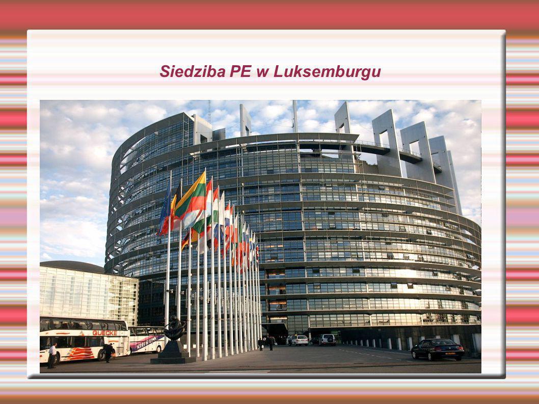 Siedziba PE w Luksemburgu