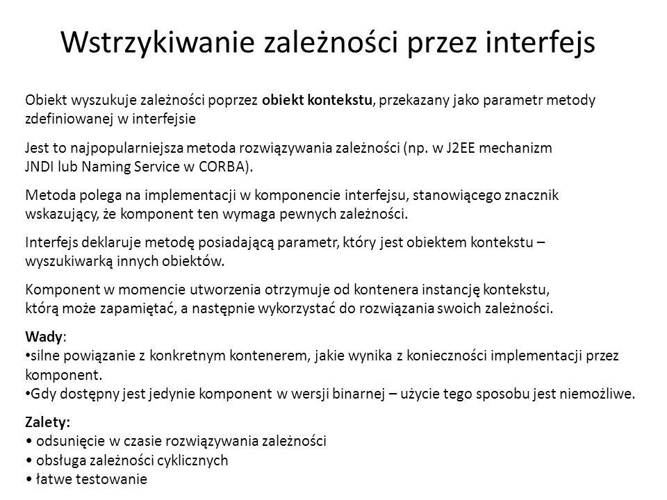 Boxowanie 14 int i = 123; object o = i; int j = (int)o; 123 i j o System.Int32 W języku C# istnieje jeszcze standardowa konwersja - opakowanie (boxing).