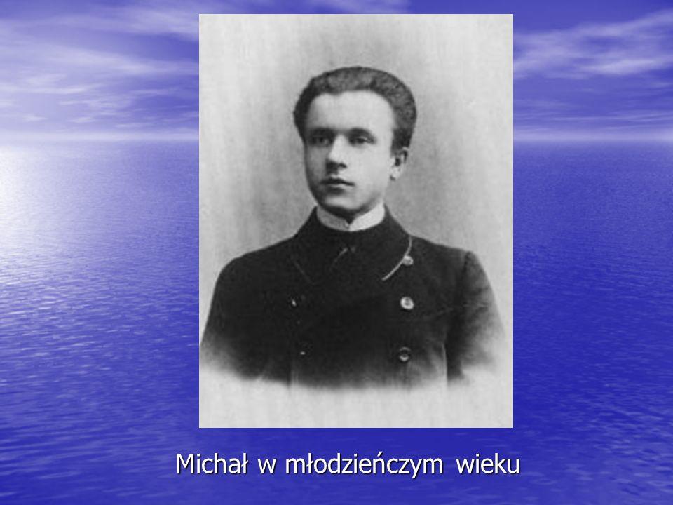 Michał w młodzieńczym wieku