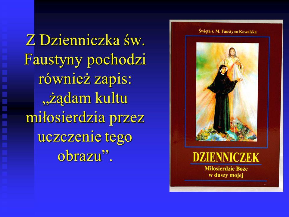 Z Dzienniczka św.