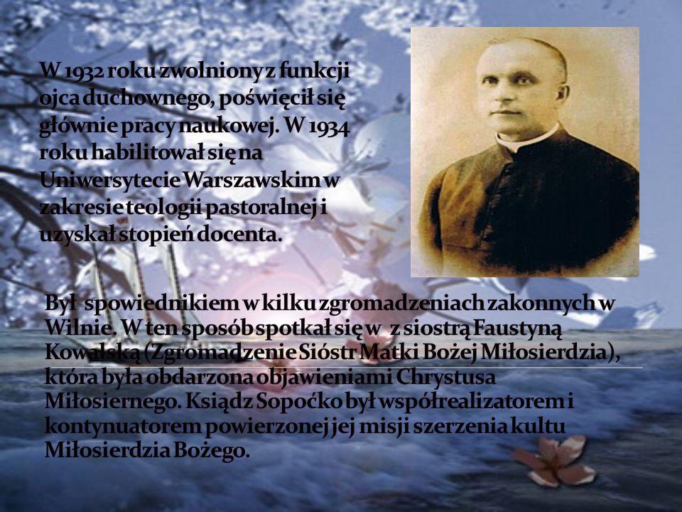 W czasie okupacji niemieckiej (1942 -1944) udało mu się szczęśliwie uniknąć aresztowania i przez dwa i pół roku ukrywał się w Czarnym Borze koło Wilna.