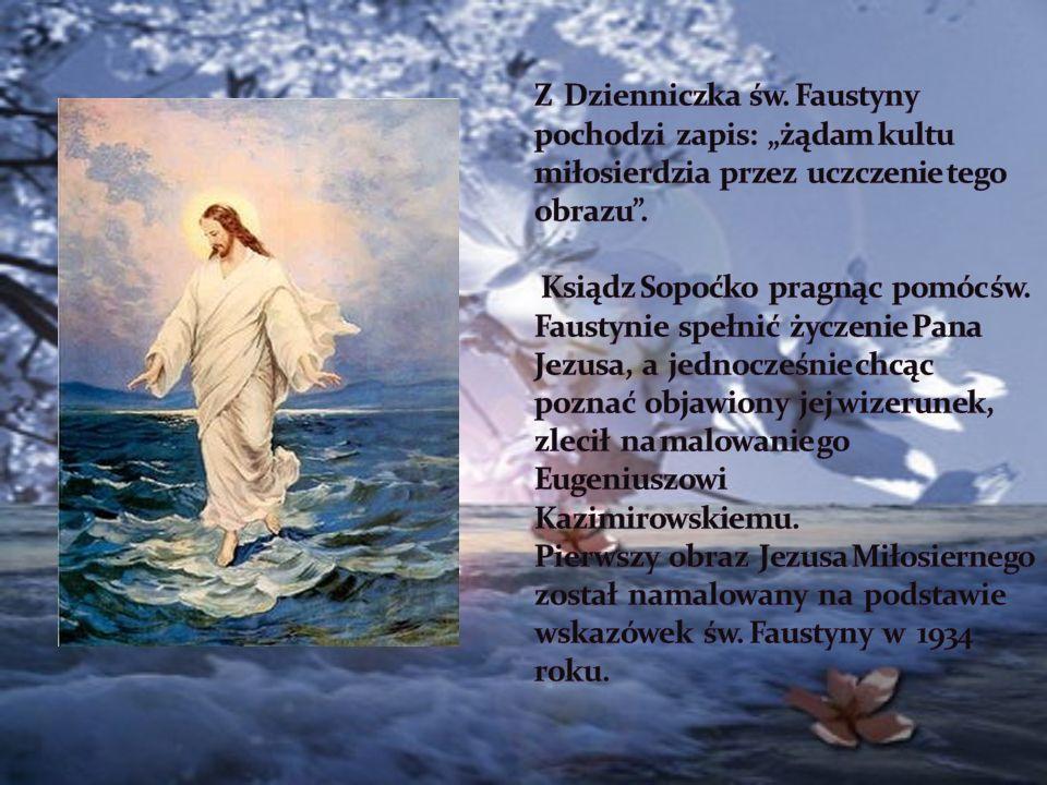 Ufność w Boże Miłosierdzie przekształca cierpienie w radość trwałą, a z aktu strzelistego Jezu, ufam Tobie.