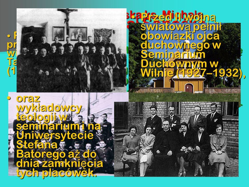 Bł. ks. Michał Sopoćko Micha ł Sopo ć ko urodzi ł si ę 1 listopada 1888 r., w Nowosadach (powiat Oszmia ń ski) na Wile ń szczy ź nie w rodzinie g łę b