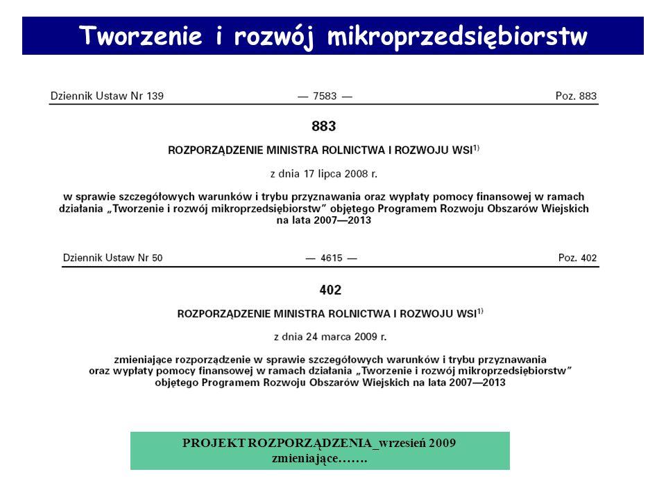 Limit dostępnych środków 617 853,38 zł Termin składania wniosków Od 10 maja 2010 do 09 czerwca 2010r.