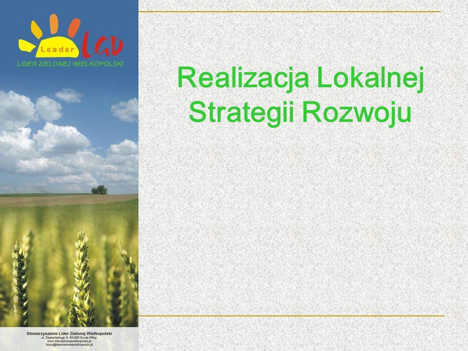 Realizacja Lokalnej Strategii Rozwoju
