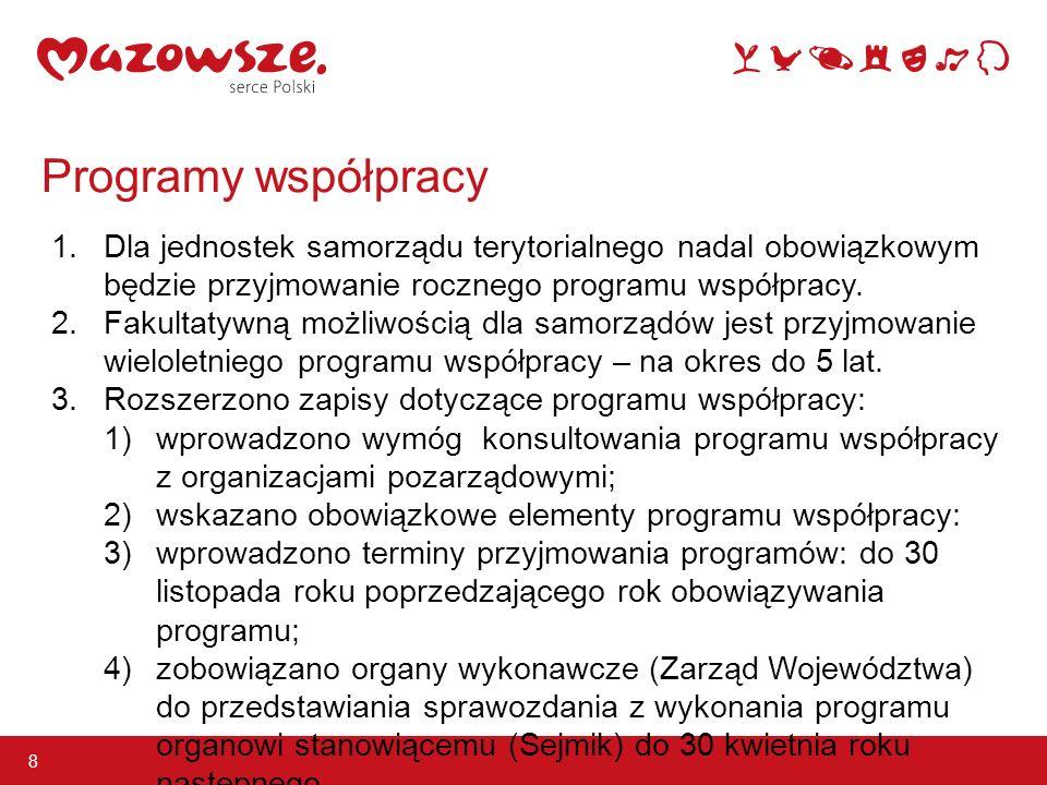 Programy współpracy 8 1.