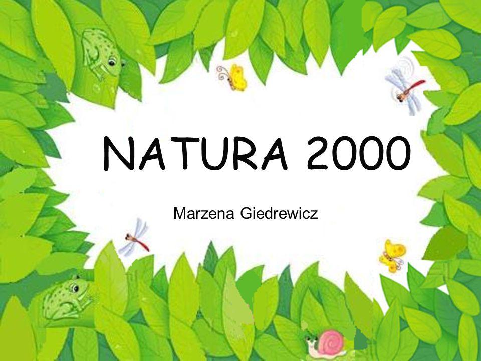 NATURA 2000 Marzena Giedrewicz