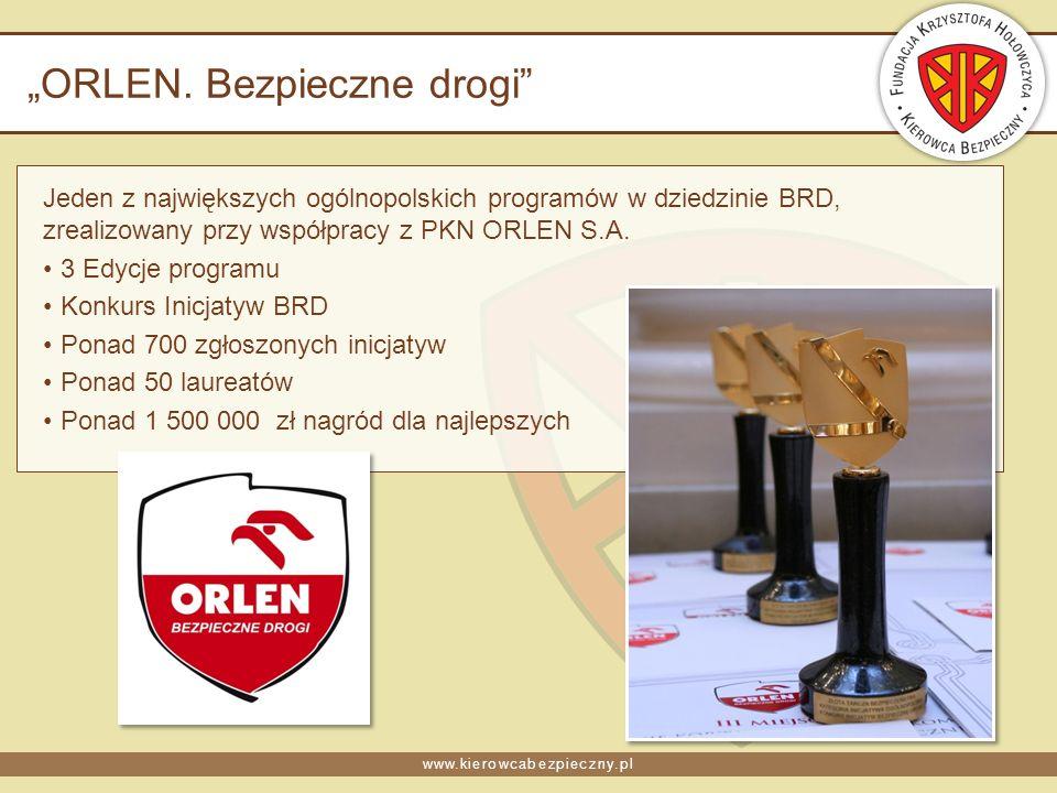 www.kierowcabezpieczny.pl ORLEN.