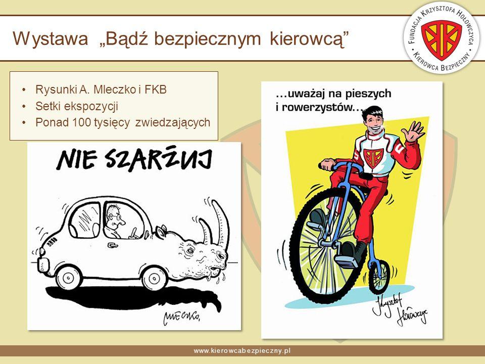www.kierowcabezpieczny.pl Wystawa Bądź bezpiecznym kierowcą Rysunki A.