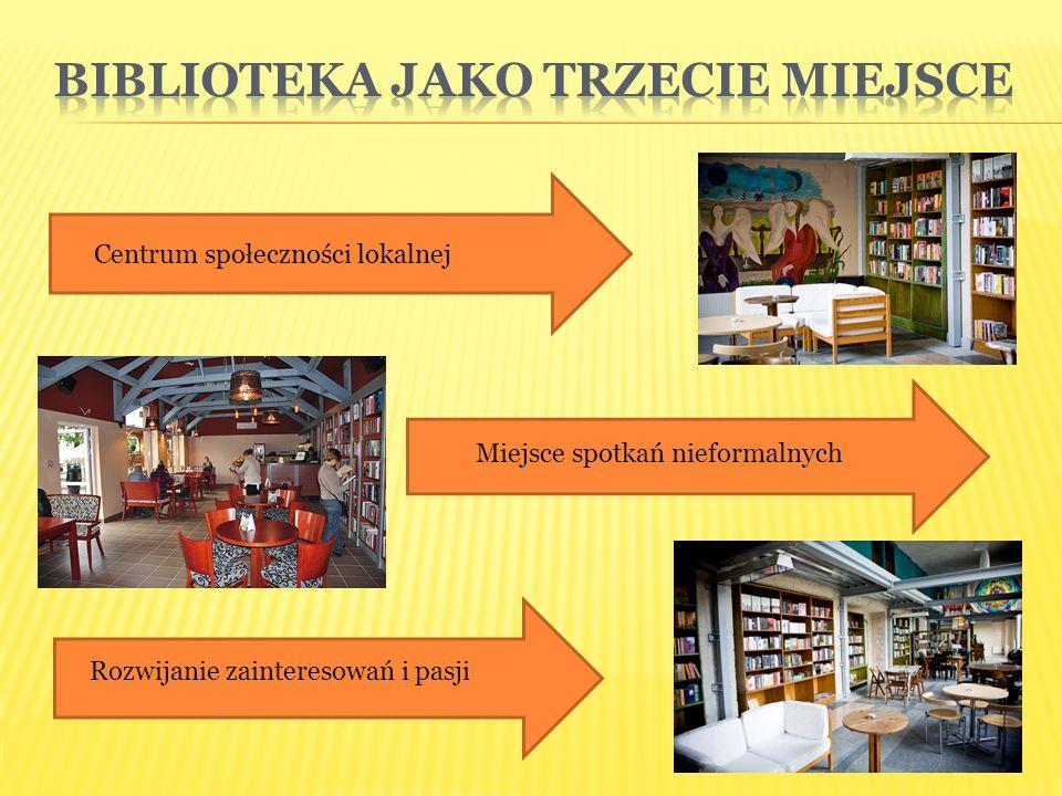 Centrum społeczności lokalnej Miejsce spotkań nieformalnych Rozwijanie zainteresowań i pasji