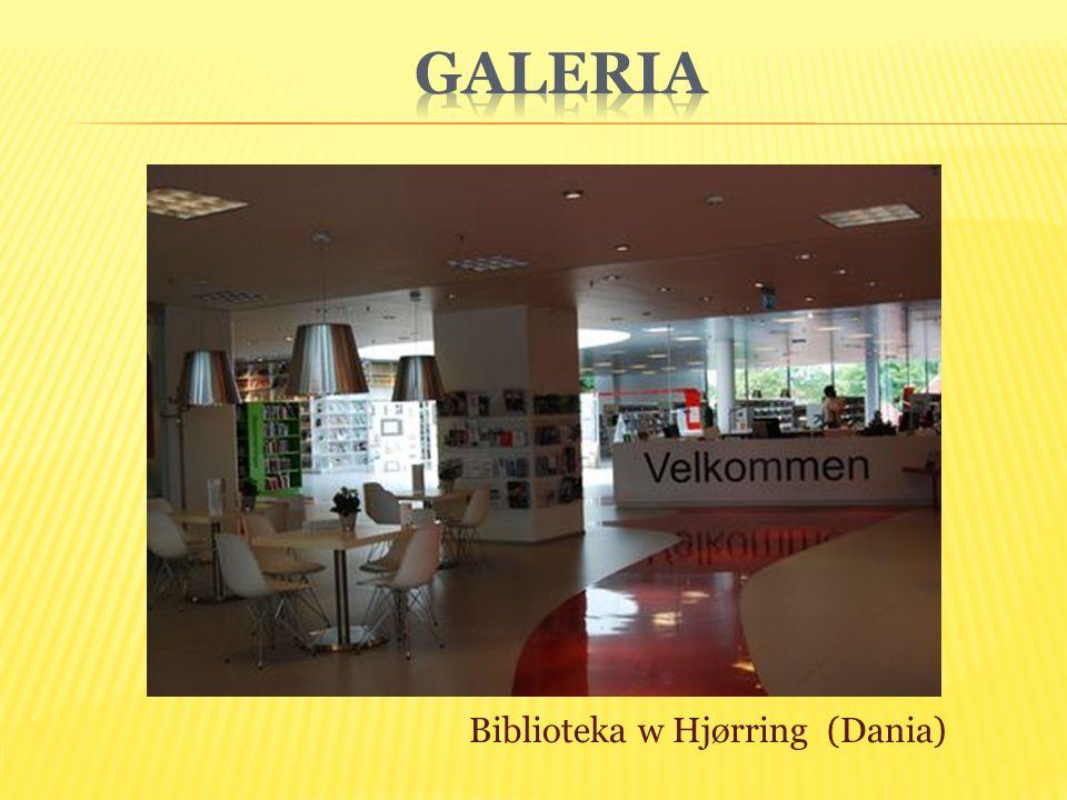 Biblioteka w Hjørring (Dania)