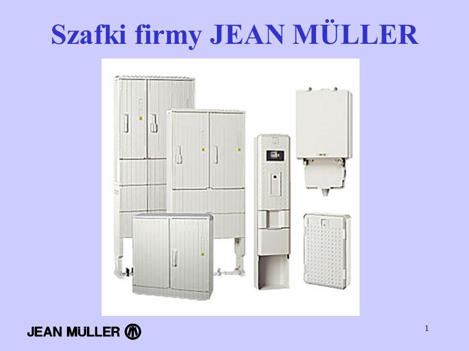 1 Szafki firmy JEAN MÜLLER