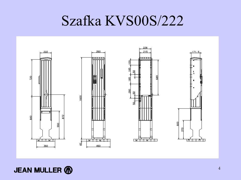 4 Szafka KVS00S/222