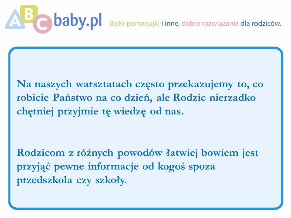 Inne formy: Zamieszczenie informacji o naszej ofercie warsztatowej na stronie internetowej placówki.