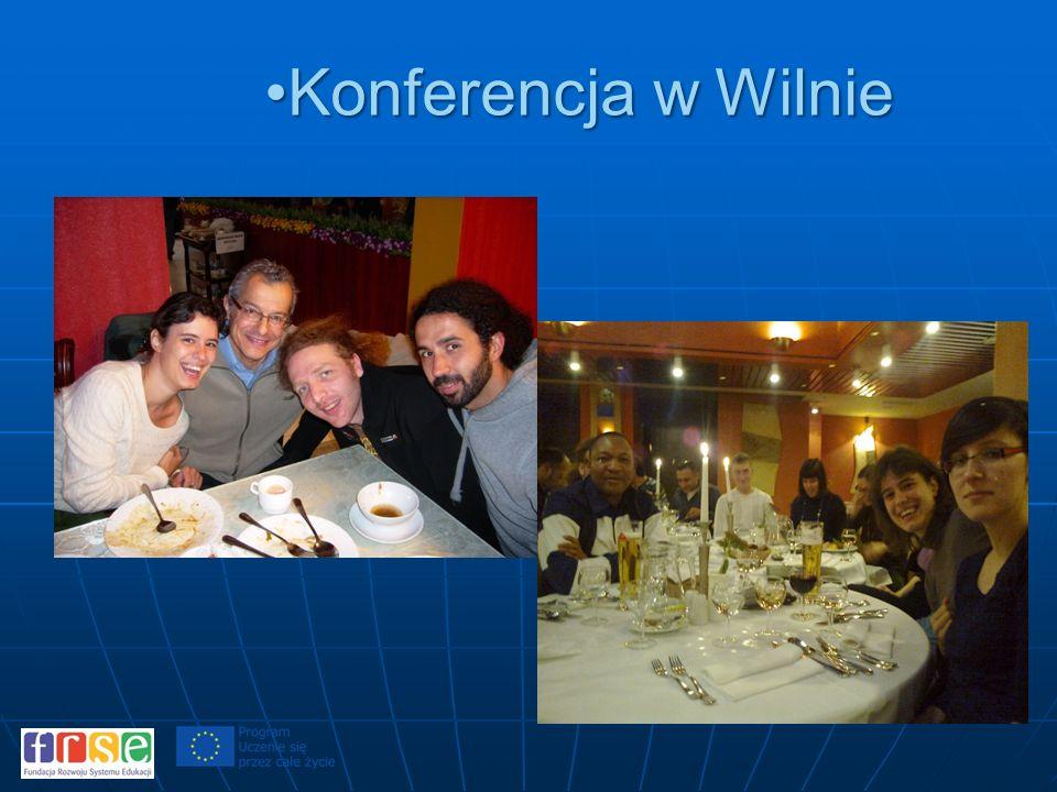 Konferencja w WilnieKonferencja w Wilnie