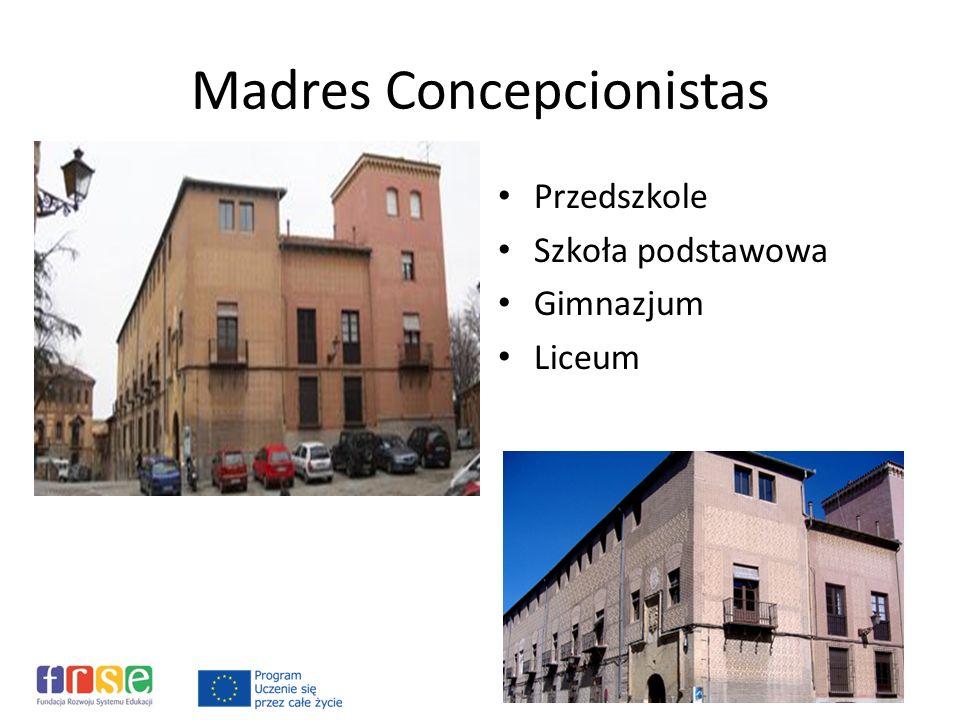 Madres Concepcionistas Przedszkole Szkoła podstawowa Gimnazjum Liceum