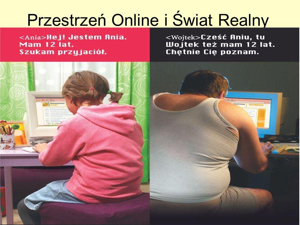 W realnym świecie zachowujemy się inaczej niż w przestrzeni internetowej.