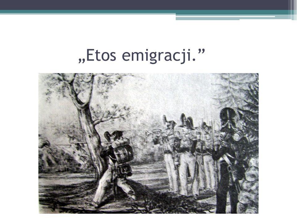 Etos emigracji.