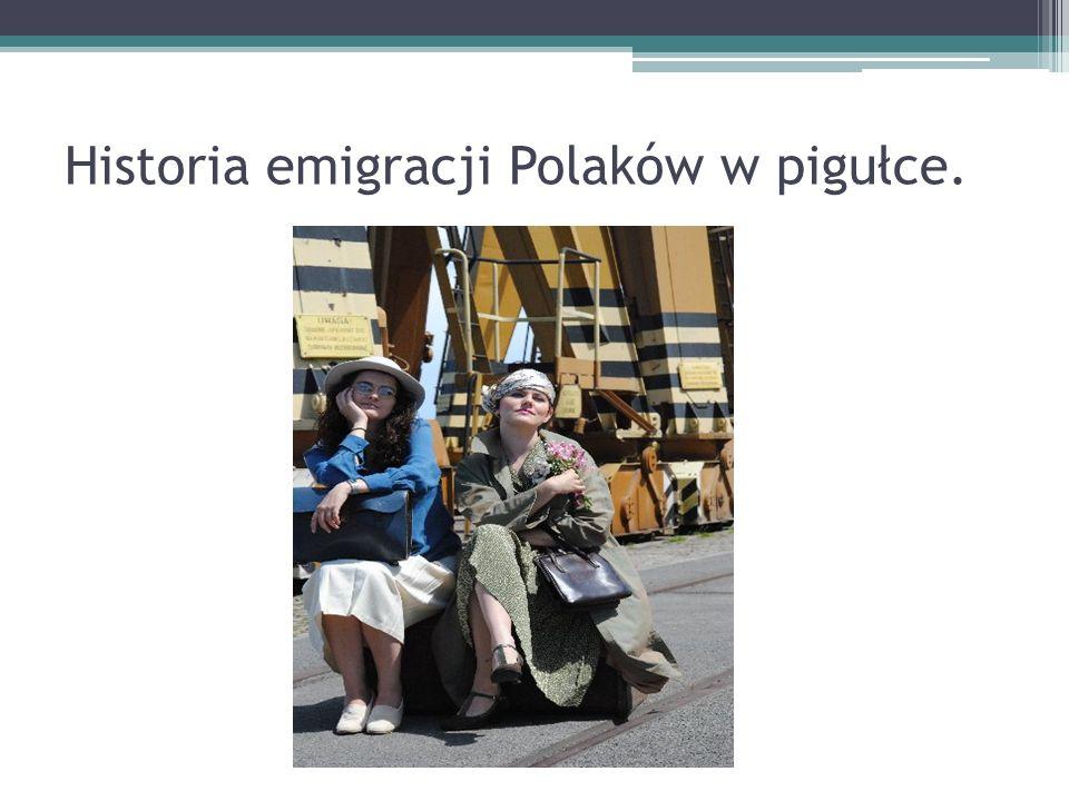 Historia emigracji Polaków w pigułce.
