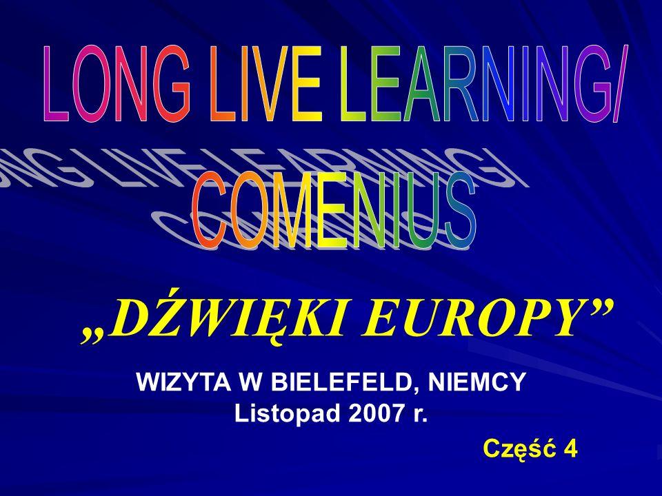 DŹWIĘKI EUROPY WIZYTA W BIELEFELD, NIEMCY Listopad 2007 r. Część 4