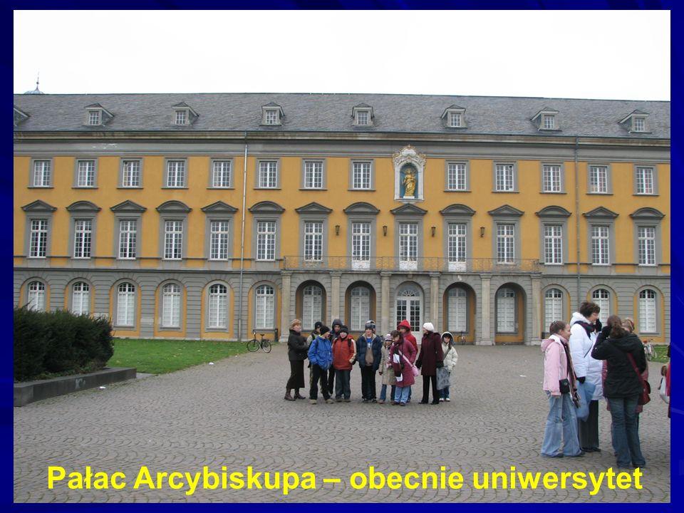 Pałac Arcybiskupa – obecnie uniwersytet