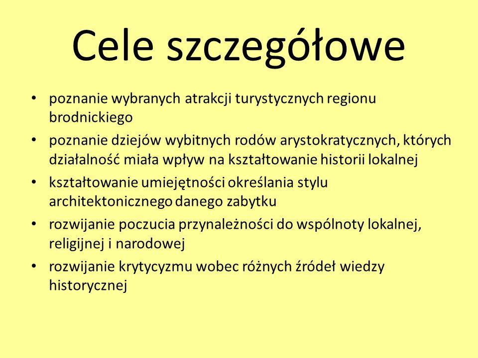 Cele szczegółowe c.d.