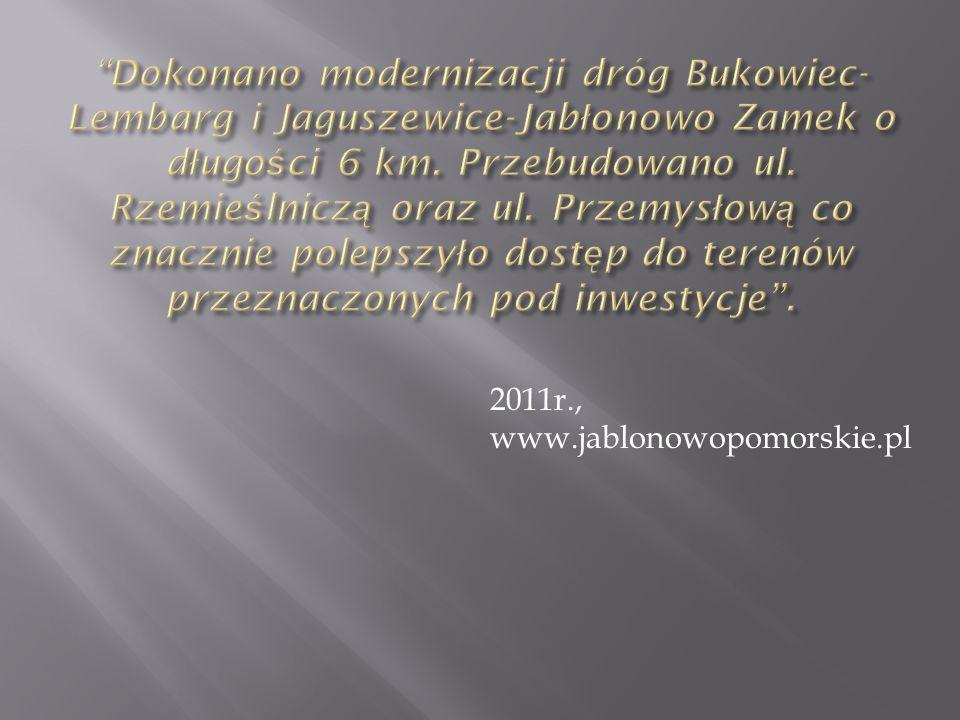 2011r., www.jablonowopomorskie.pl