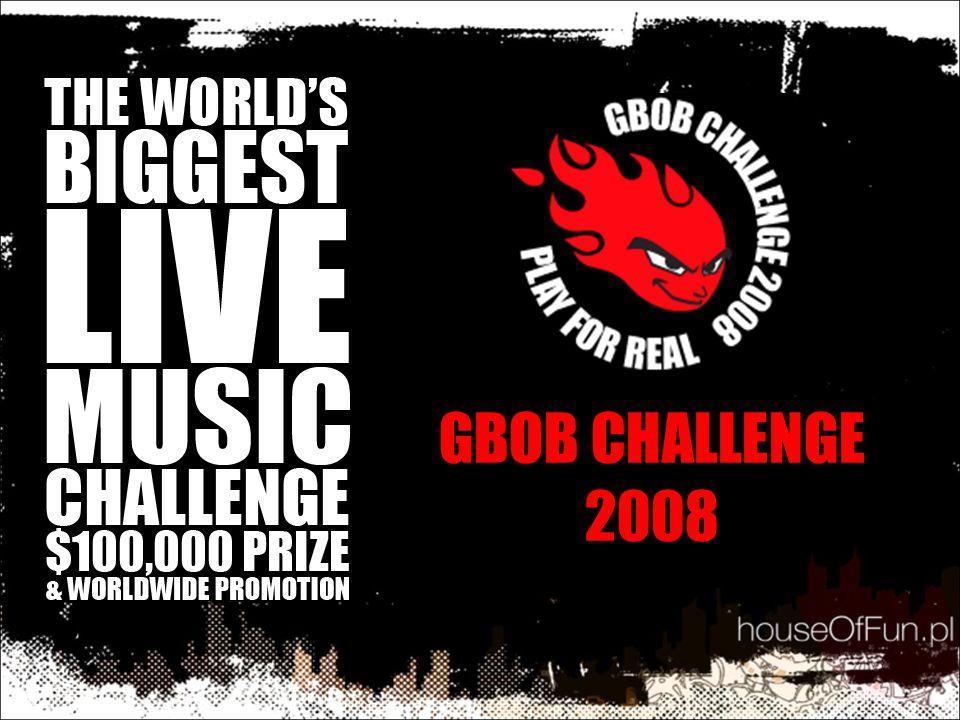 © GBOB Poland 20082 Czym jest GBOB Challenge.