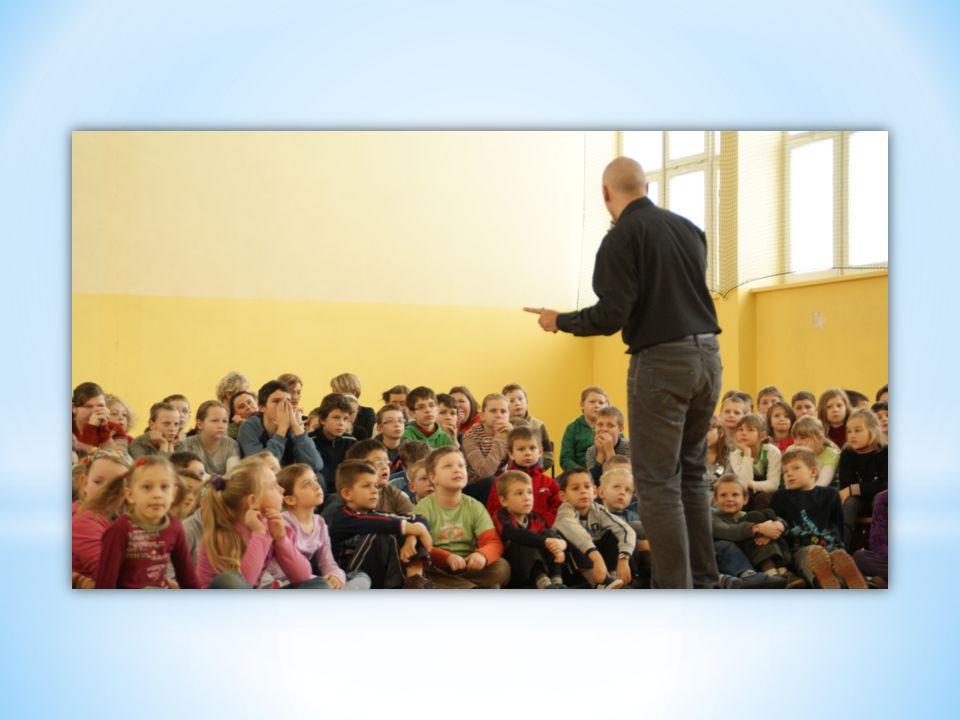 W grudniu odbyło się spotkanie z autorem Łukaszem Wierzbickim - To były niezapomniane wrażenia