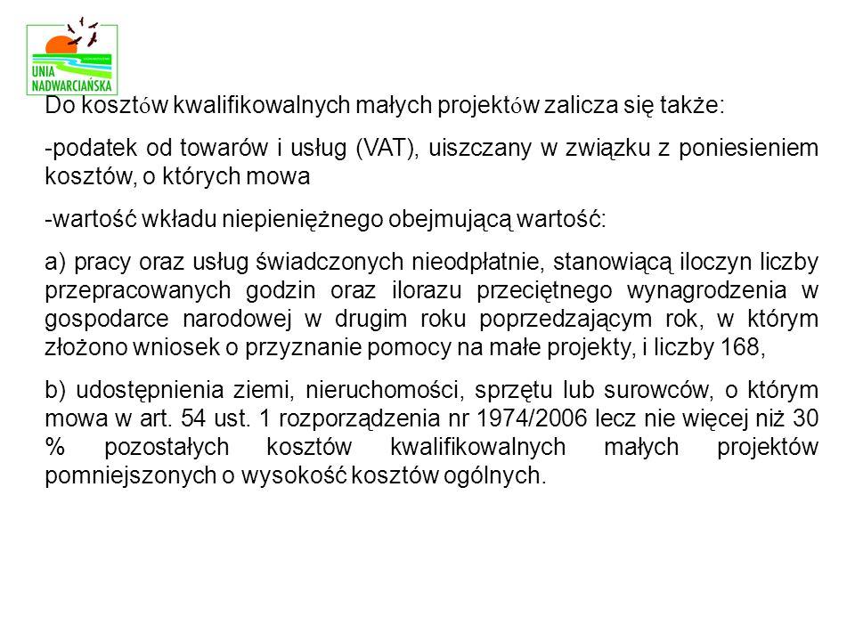 VIII.INFORMACJA O ZAŁĄCZNIKACH IX.