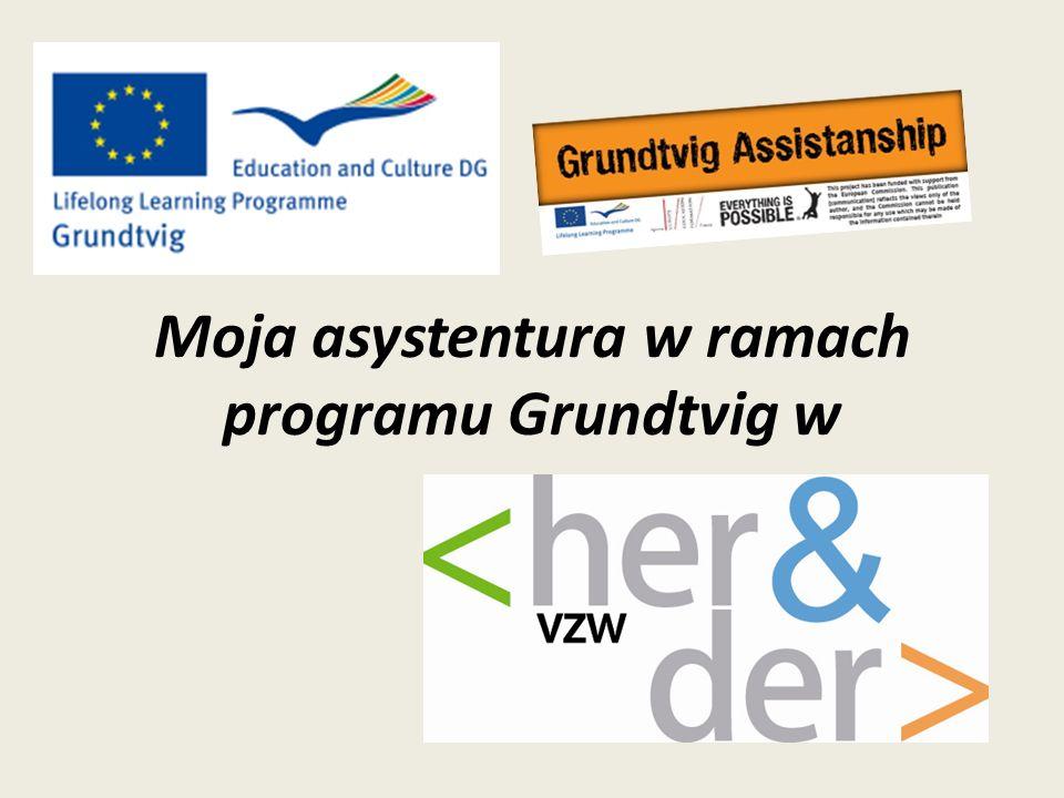 Moja organizacja goszcząca Her&Der flamandzką jest organizacją zajmującą się wysyłaniem wolontariuszy za granicę Oferujemy projekty: budowlane (grupa wolontariuszy ma za zadanie wykonać drobne i niewymagające szczególnych umiejętności prace remontowe), socjalne (np.