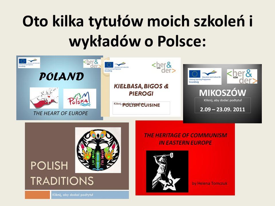 Przygotowałam również broszurę języka polskiego