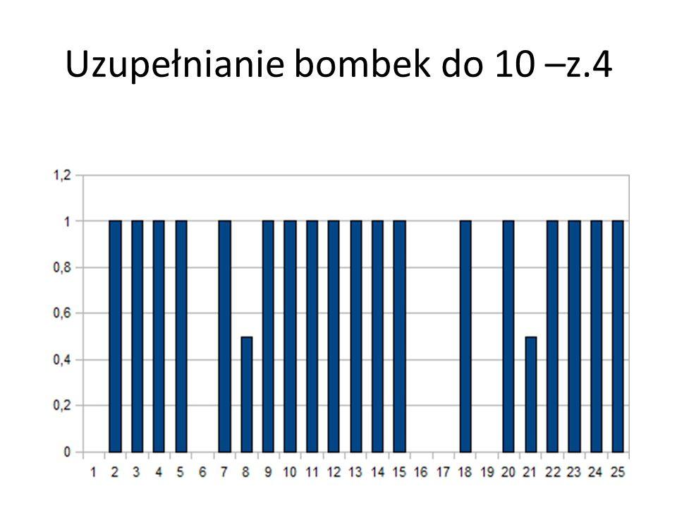 Uzupełnianie bombek do 10 –z.4