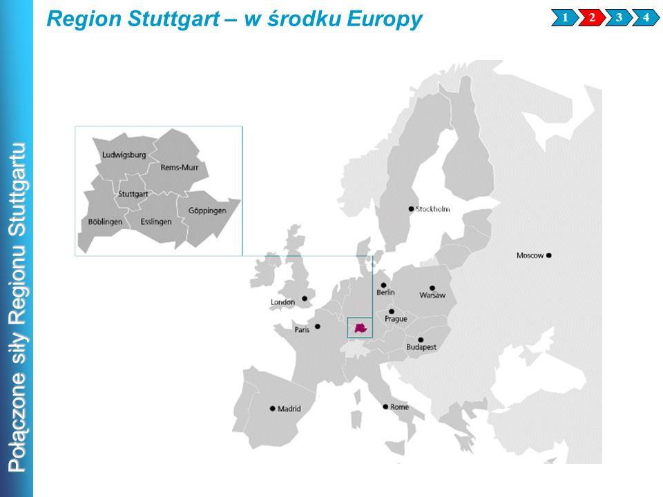 Połączone siły Regionu Stuttgartu Region Stuttgart – w środku Europy 2341