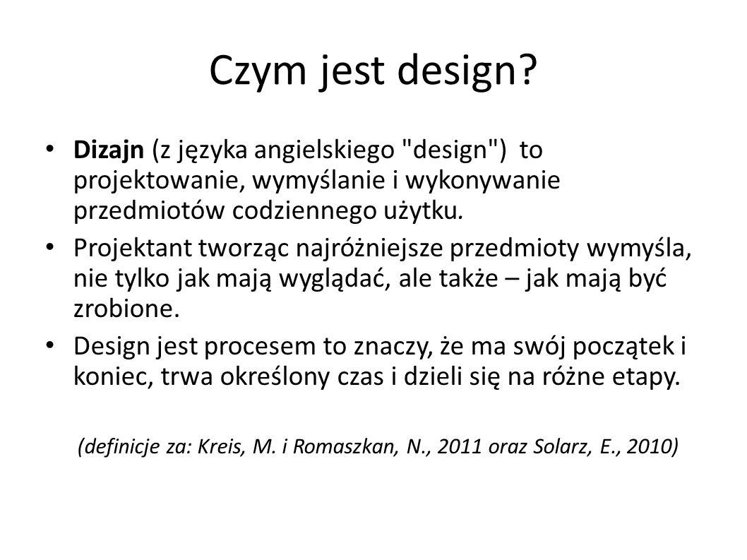 Czym jest design? Dizajn (z języka angielskiego