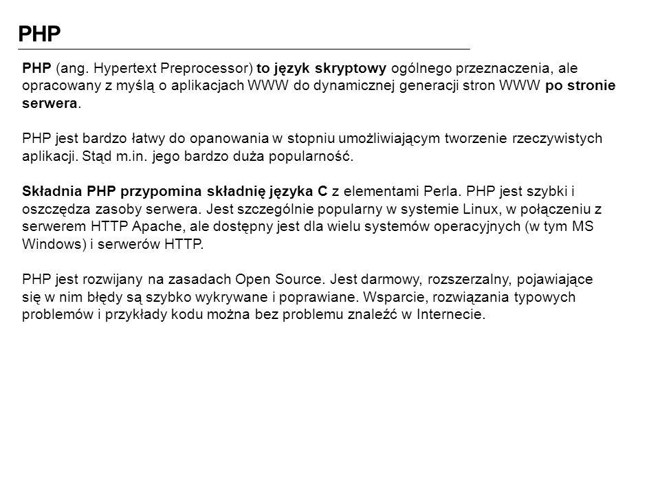 PHP PHP (ang.
