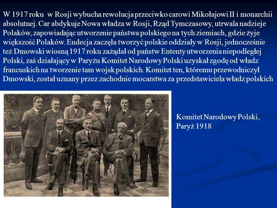 W 1917 roku w Rosji wybucha rewolucja przeciwko carowi Mikołajowi II i monarchii absolutnej.