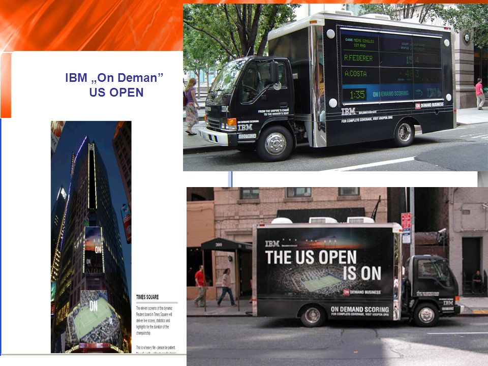 IBM On Deman US OPEN