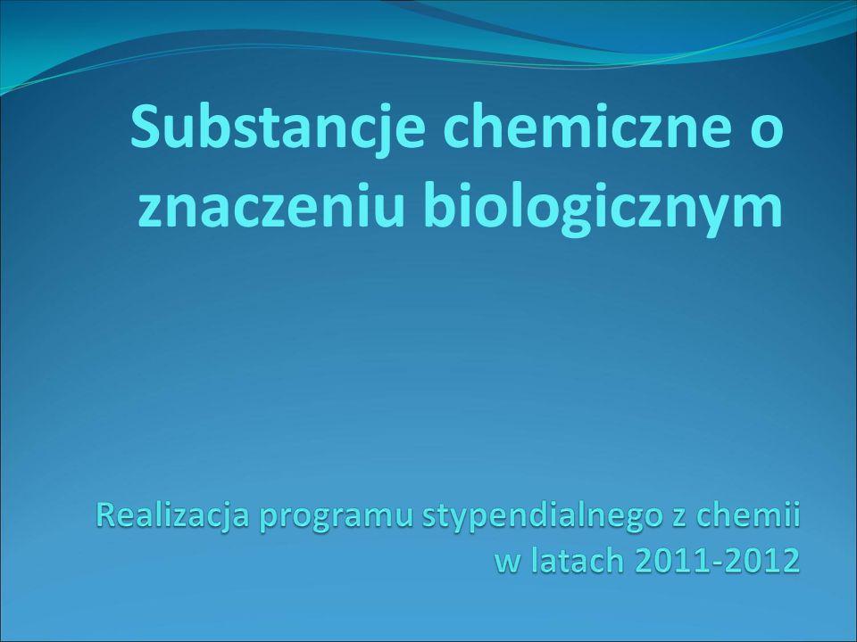 Substancje chemiczne o znaczeniu biologicznym