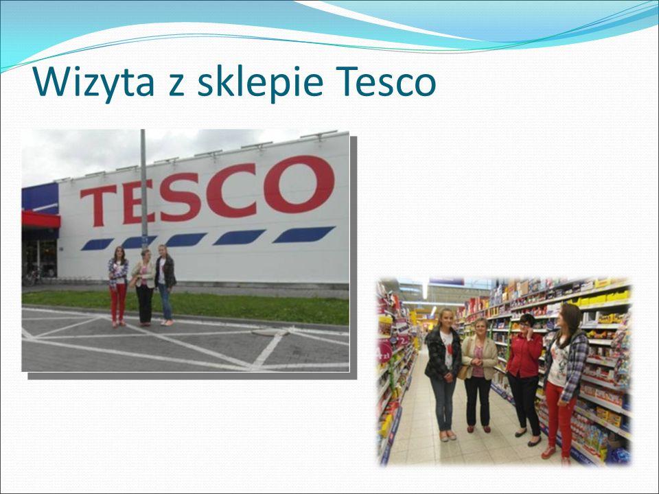 Wizyta z sklepie Tesco