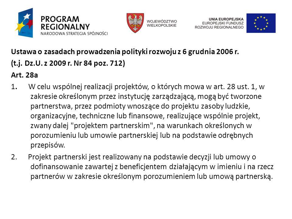 Ustawa o zasadach prowadzenia polityki rozwoju z 6 grudnia 2006 r.