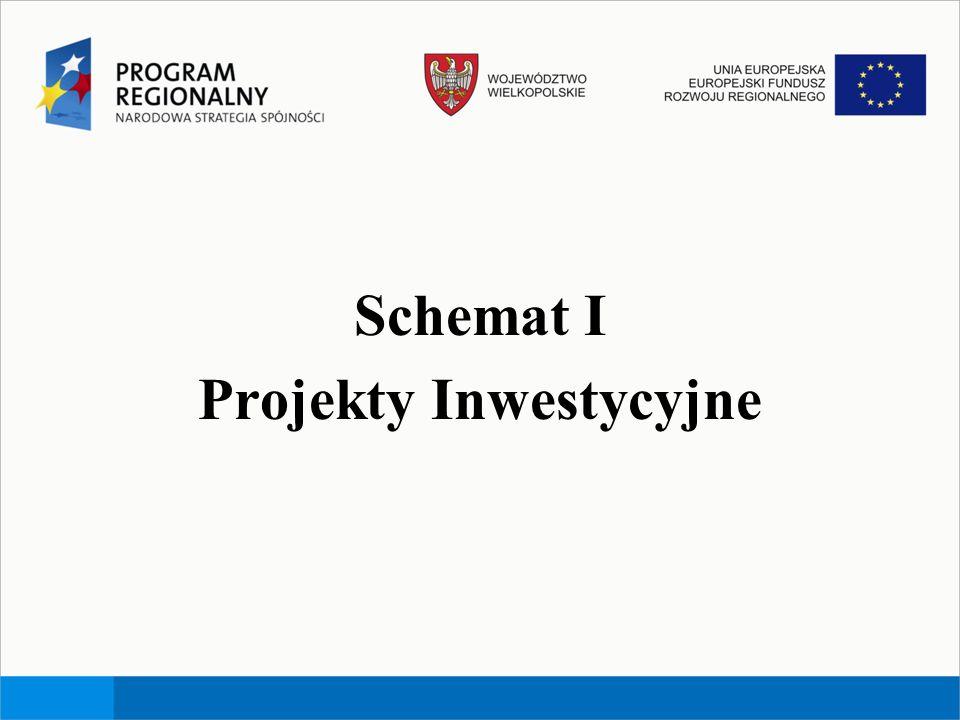 Schemat I Projekty Inwestycyjne