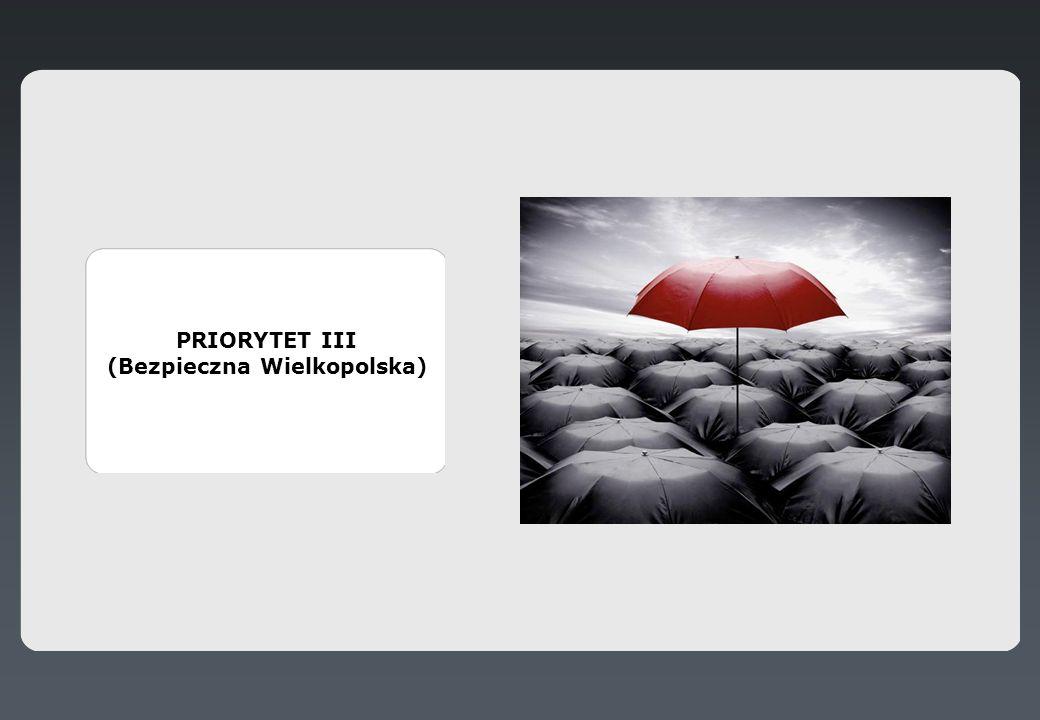 PRIORYTET III (Bezpieczna Wielkopolska)
