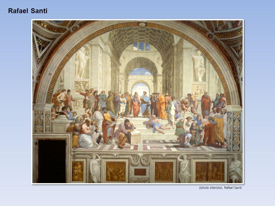 Rafael Santi Szkoła Ateńska, Rafael Santi